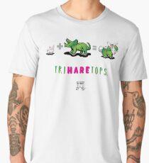 TRIHARETOPS™: MATH Men's Premium T-Shirt