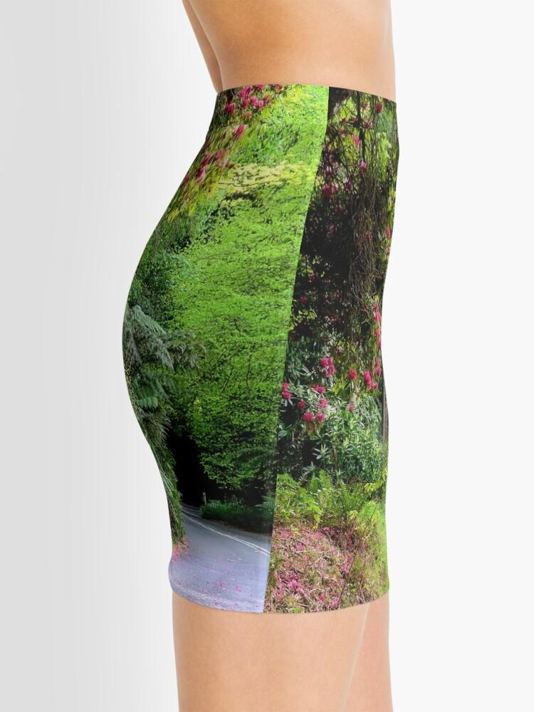 Alternate view of Spring on The Avenue - Mt Wilson NSW Mini Skirt