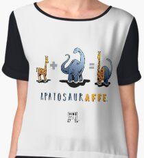 APATOSAURAFFE™: MATH Chiffon Top