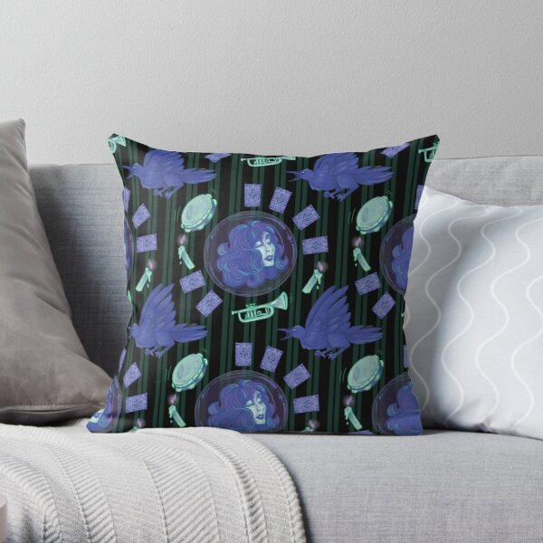 Leota's Seance Room Throw Pillow