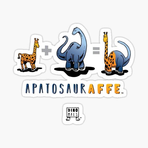 APATOSAURAFFE™: MATH Sticker