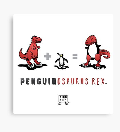 PENGUINOSAURUS REX™: MATH Canvas Print