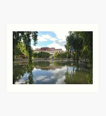 Potala Palace Tibet  Art Print