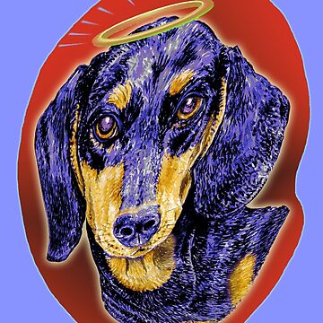 Dachshund My Angel by didielicious