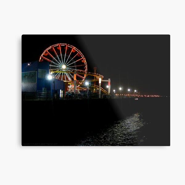 By Turns At Midnight Metal Print