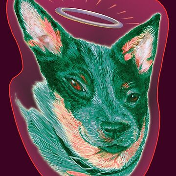 Australian Cattledog My Angel by didielicious
