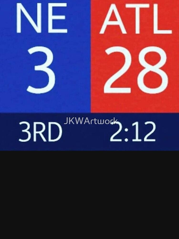 The Falcons 28-3 Lead by JKWArtwork