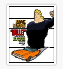 Brock Samson IS MULLET! Sticker