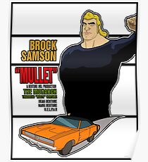 Brock Samson IS MULLET! Poster