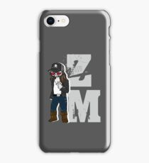 Zach McGowan - ZM - White iPhone Case/Skin