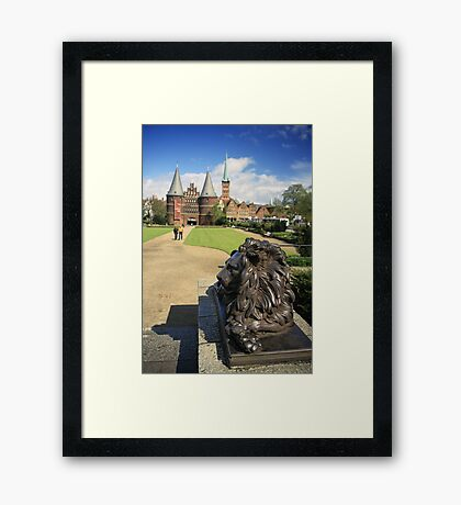 Lübeck, Germany Framed Print