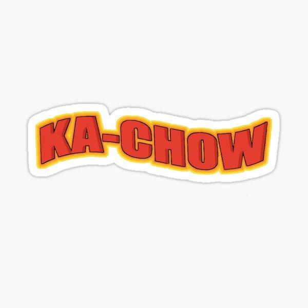 Kachow Sticker