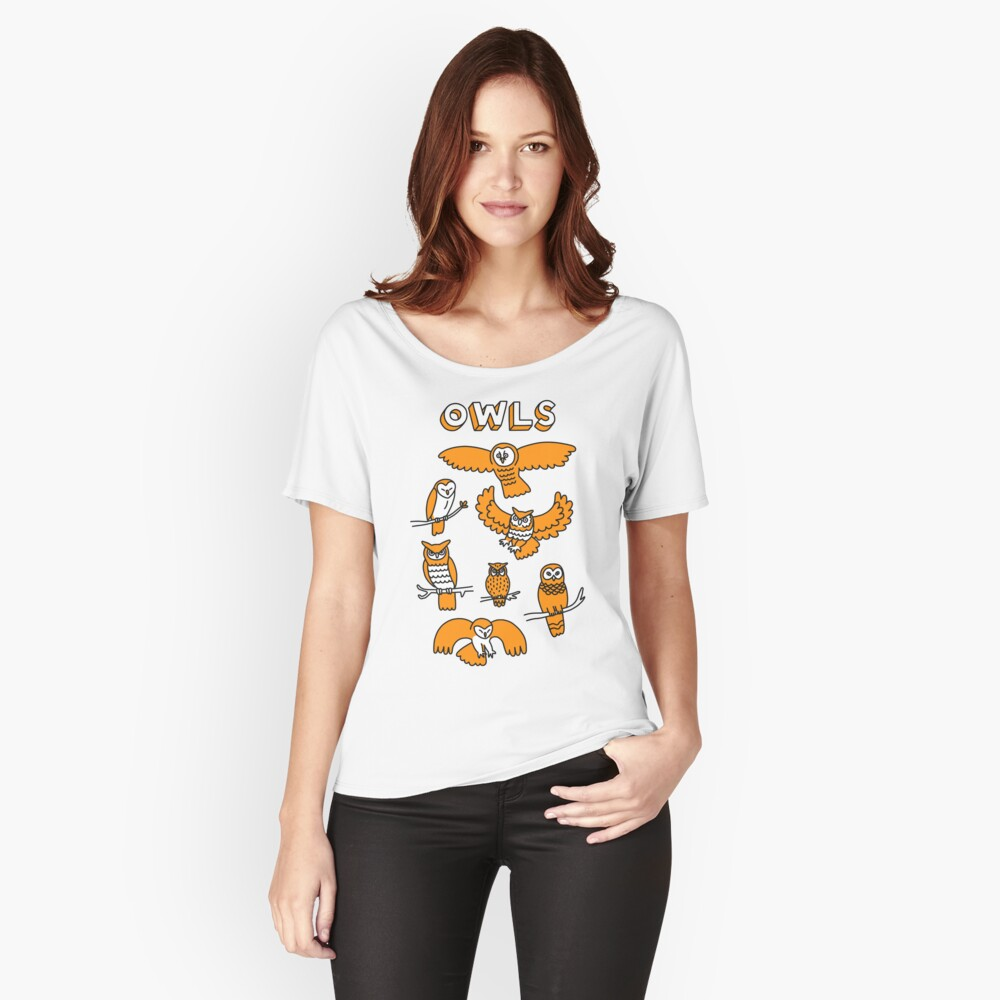 OWLS Relaxed Fit T-Shirt