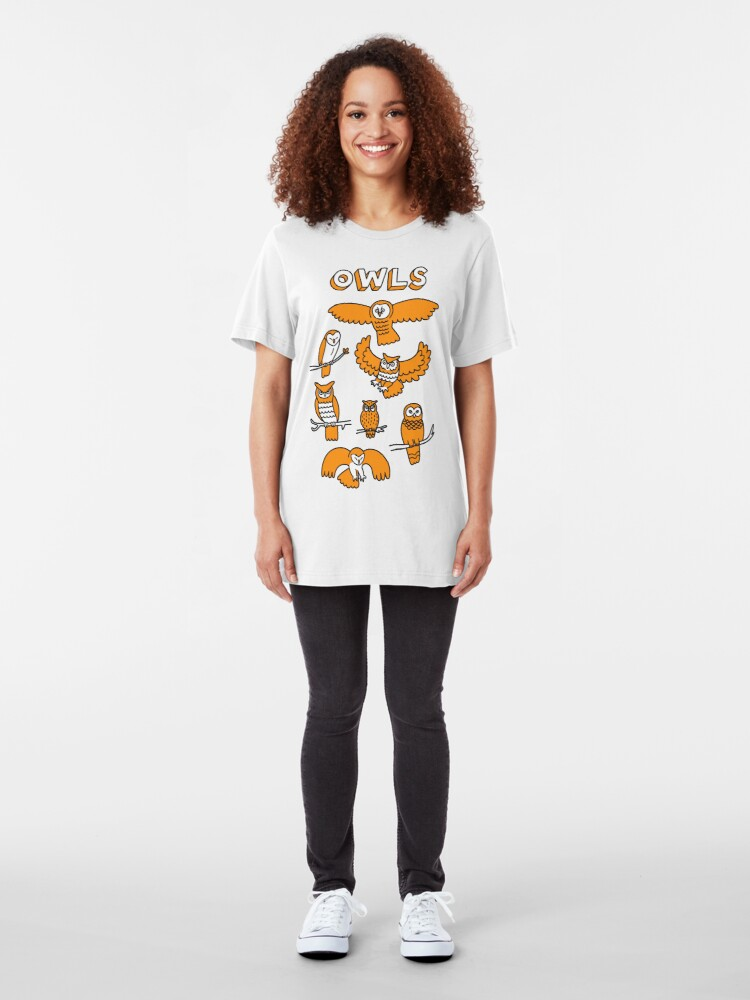 Alternate view of OWLS Slim Fit T-Shirt