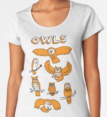 OWLS Women's Premium T-Shirt