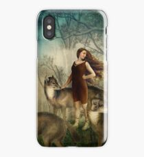 Running with the wolfs iPhone Case/Skin