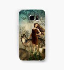 Running with the wolfs Samsung Galaxy Case/Skin