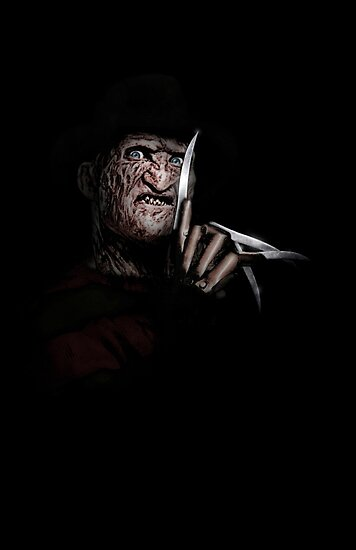FREDDY KRUEGER! by John Medbury (LAZY J)