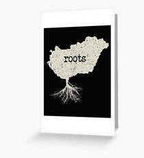 Hungary Roots Greeting Card