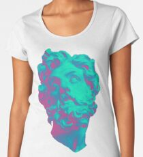 Aesthetic Statue Head Women's Premium T-Shirt