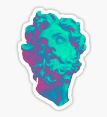 Aesthetic Statue Head Sticker
