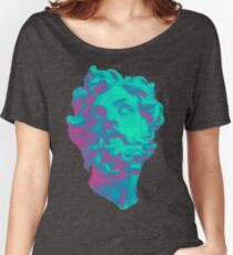 Aesthetic Statue Head Women's Relaxed Fit T-Shirt