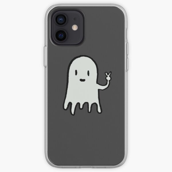 Ghost Halloween iPhone Soft Case