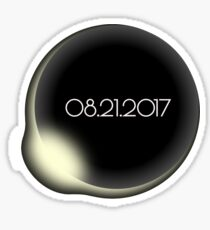 Total Solar Eclipse 08.21.2017 Sticker