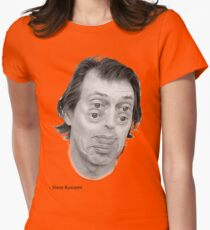Steve Buscemi Eyes Womens Fitted T-Shirt