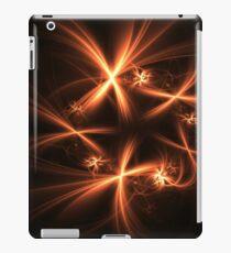 Orange fireworks iPad Case/Skin