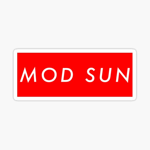Mod Sun Sticker