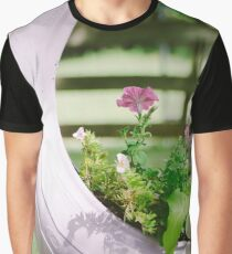 Pink Floral 2 Graphic T-Shirt