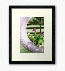 Pink Floral 2 Framed Print