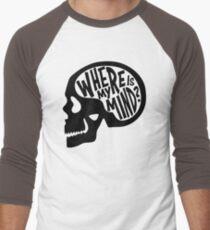 Where is my Mind - Fight Club  Men's Baseball ¾ T-Shirt