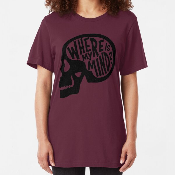 Where is my Mind - Fight Club  Slim Fit T-Shirt