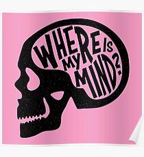 Wo ist mein Verstand - Fight Club Poster