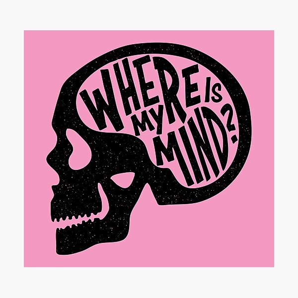 Where is my Mind - Fight Club  Photographic Print