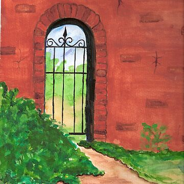 Behind the Gate by MSpen