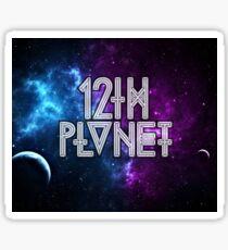 12th galaxy Sticker
