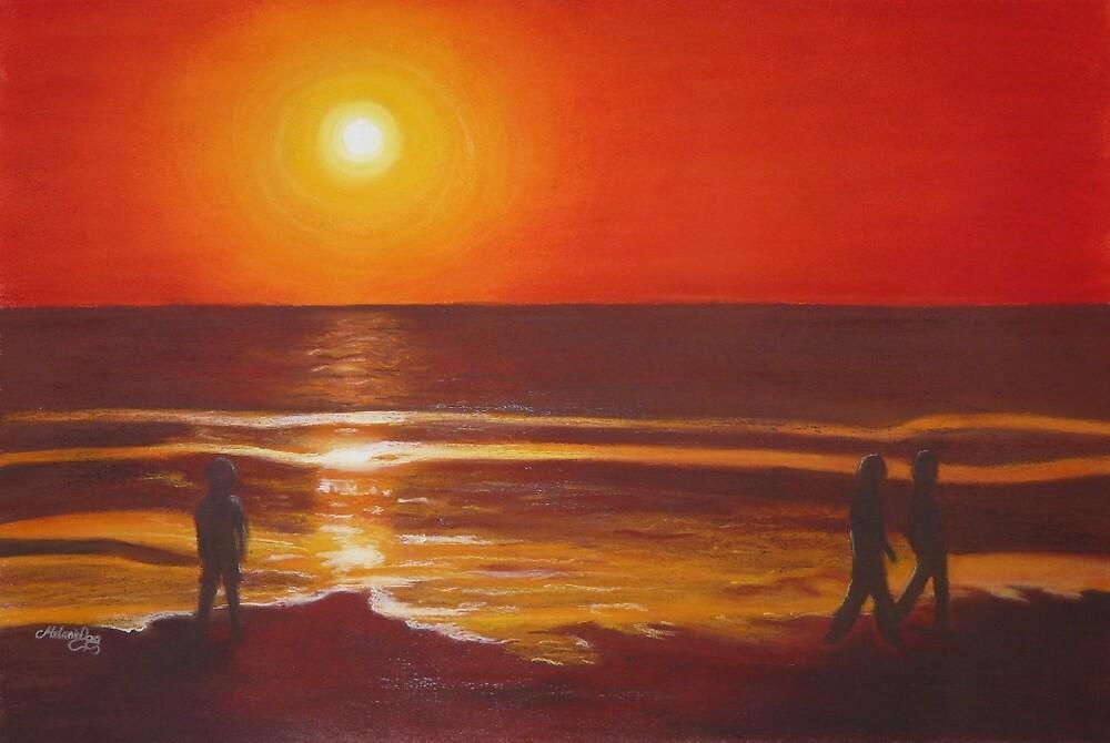 Heat wave by Melanie Pople