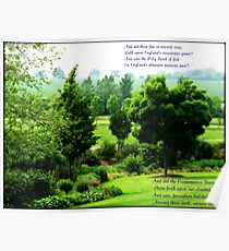 England's Green and Pleasant Land - Ortonish Vignette Poster
