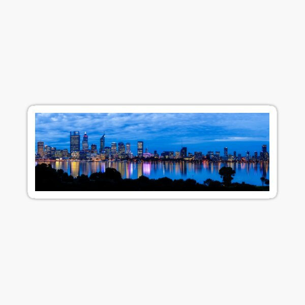 City Blues, South Perth, Perth Sticker