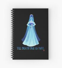 Haunted Bride Spiral Notebook