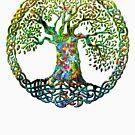 TREE OF LIFE - screaming spring NEW DESIGN by butterflyscream