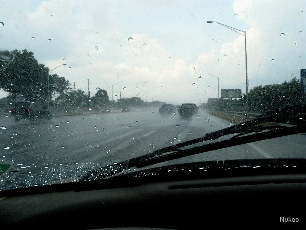 Rain Slicked Highway by Nukee