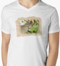 SQUIRREL and FLOWERS T-Shirt