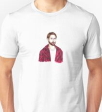 Ryan Gosling Red Jacket Drawing T-Shirt