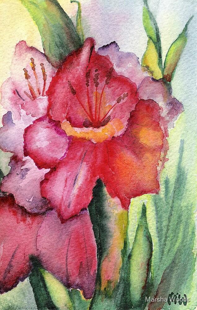 """Glad"" by Marsha Woods"
