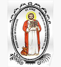 Saint Luke Patron of Physicians Poster