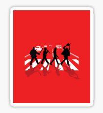 Abbey Road Killer Mash Up  Sticker
